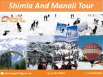 Shimla Manali Tour Package From Delhi by Car