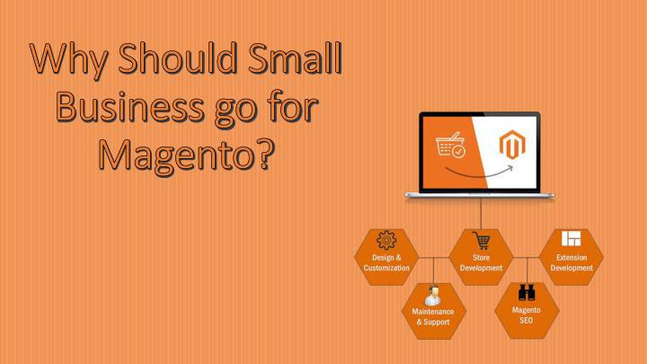 why should small business go for magento n.