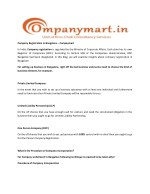 Company Registration in Bangalore - Companymart