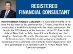 Peter Fetherston- Registered Financial Consultant