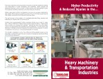 Higher Productivity & Reduce Injuries in The Heavy Machinery & Transportation Industries