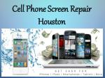 Cell Phone Screen Repair Houston