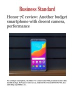 Honor 7C review: Another budget smartphone with decent camera, performance