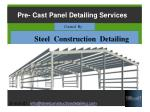 Joist Detailing Services Latin America - Steel Construction Detailing