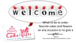 Visit cakengifts.in for ordering your favorite cake the same day?