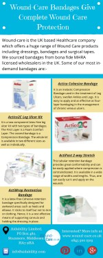 Wound-Care Bandages Give Complete Wound Care Protection