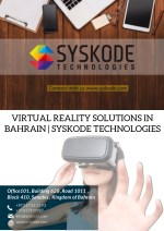 Virtual Reality Solutions in Bahrain | Syskode Technologies