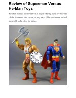 Review of Superman Versus He-Man Toys