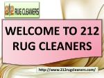 212 Rug Cleaners