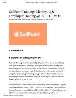 Sailpoint IdentityIQ Architecture At Tekslate