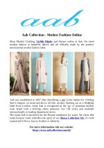 Aab Collection - Modest Fashion Online