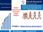 Global Endovascular Aneurysm Repair Market to be US$ 3.8 Billion by 2024