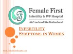 Infertility Symptoms
