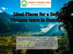 Ideal places for a sapa vietnam tours in summer