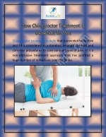 How Chiropractor Treatment is Beneficial for You