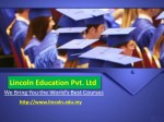 Aim of Lincoln University College