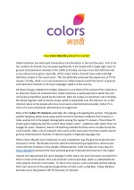 How Colors Marathi grabbed the market?