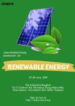Join international workshop on Renewable Energy