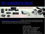 Wireless Hidden Camera Dealer in Delhi