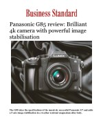 Panasonic G85 review: Brilliant 4k camera with powerful image stabilisation