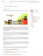 Latest News of Patanjali Ayurveda and It's Popularity In World