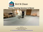 Home Cleaning Services in Baner - Dirt n Clean