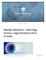 Matrika Medicare - Best Egg Donors, Egg Donation Clinic in India