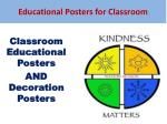 Classroom posters for high school