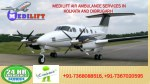 Avail Inexpensive Medilift Air Ambulance Services in Kolkata and Dibrugarh