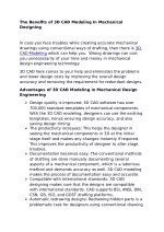 The Benefits of 3D CAD Modeling In Mechanical Design Engineering