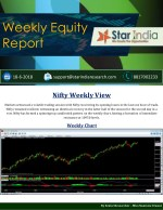 Weekly Equity    Report 18 june