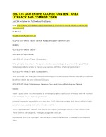 EED 475 GCU ENTIRE COURSE CONTENT AREA LITERACY AND COMMON CORE