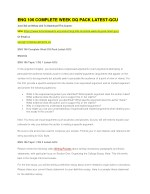 ENG 106 COMPLETE WEEK DQ PACK LATEST-GCU