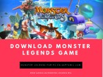 Download monster legends game