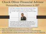 Chuck Oliver Financial Advisor - Outstanding Performance in 2017