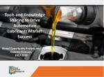 Automotive Lubricants Market Key Vendors Revenue by 2022