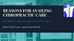 Benefits of Chiropractic Care Services