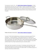 Cuisinart 733 – 30H Chef's Classic Stainless frying pan