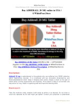 Buy ADDERALL 20 MG online