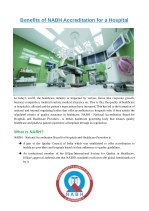 Benefits of NABH Accreditation for a Hospital