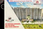 3 BHK Apartment in Greater Noida West - ACE City