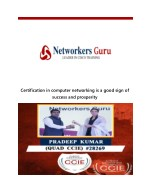 Networkers Guru - Leader in Cisco Training