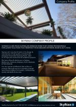Skymax - The Australian Louvered Roof Manufacturer