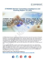 1T-MONOS Market Competitive Intelligence and Tracking Report Till 2026