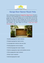 Garage door repair clermont | Garage Door Opener
