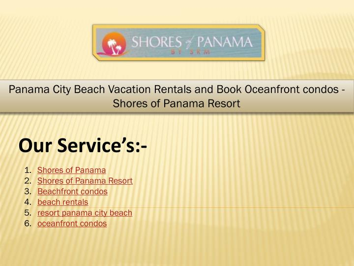 panama city beach vacation rentals and book n.