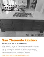 San Clemente Transitional Kitchen Remodel