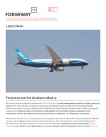 Forgeway and the Aviation Industry