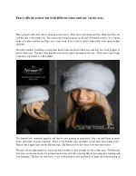 Fancy official aviator hat with diffrent colors and size | arctic-store