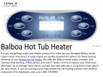 Best Balboa Hot Tub Heater